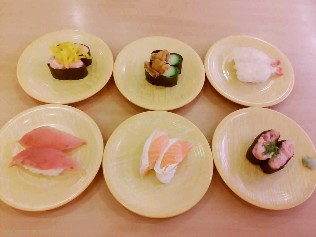 かっぱ寿司の食べ放題でフードファイト(二日酔い)
