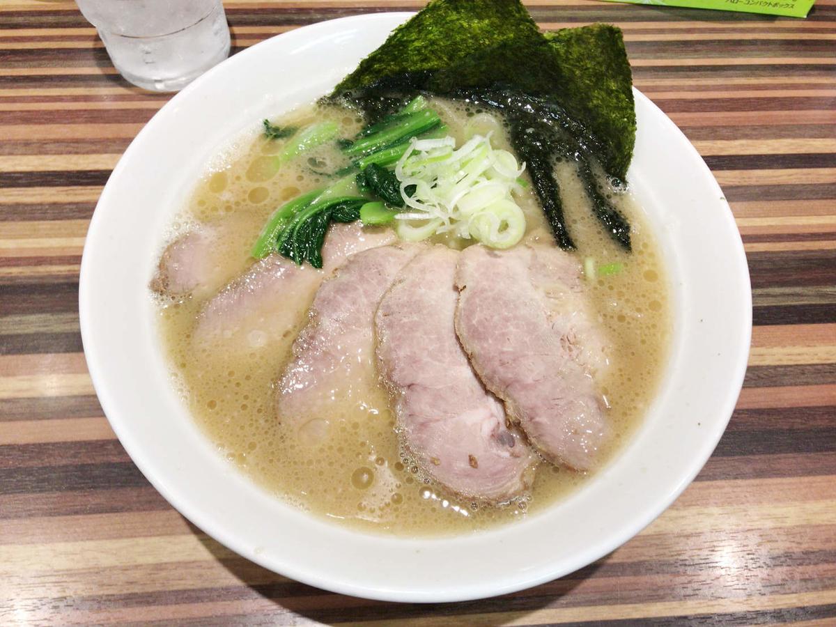 らーめん堂仙台っ子のチャーシュー麺!