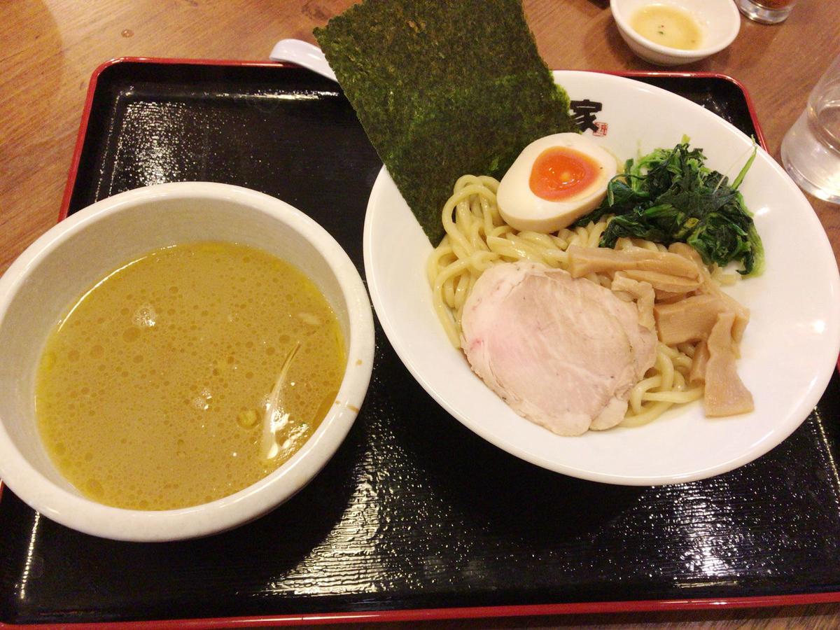 ラーメン佐々木家のつけ麺
