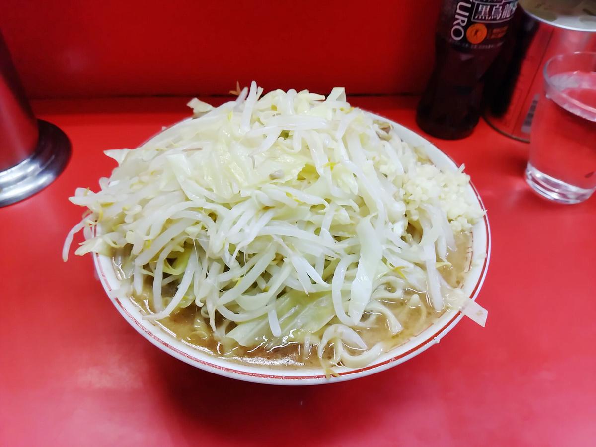 ラーメン二郎三田本店、大ラーメン全マシ!
