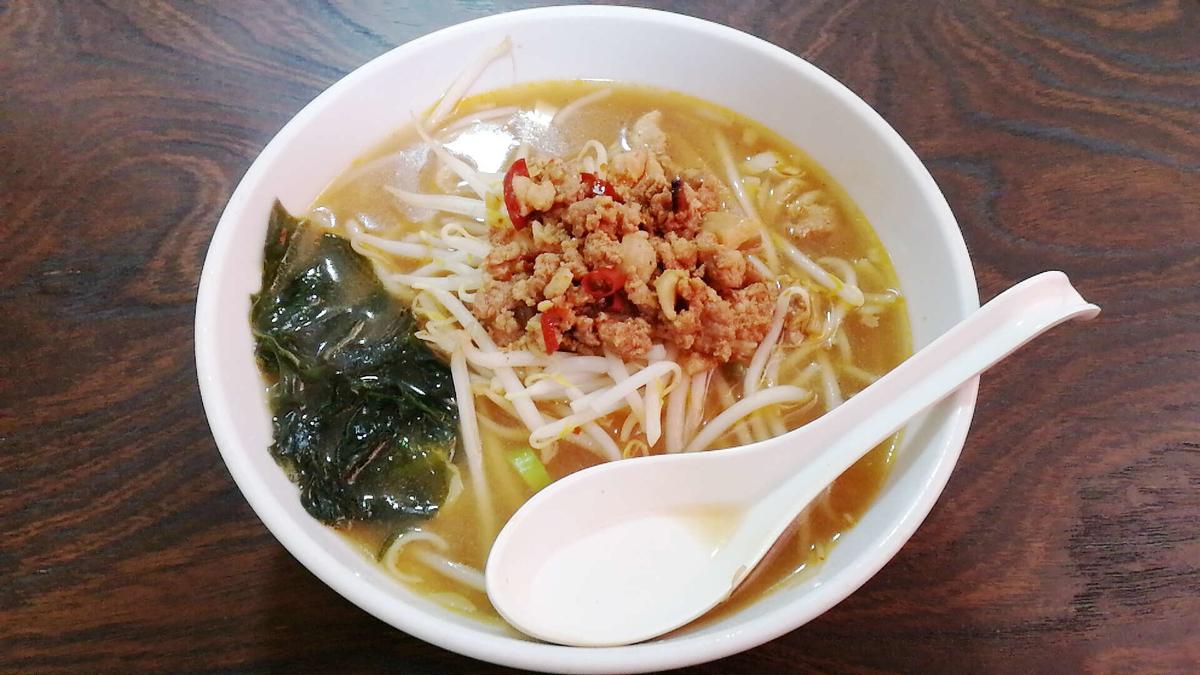 横手の台湾料理「美味鮮」の台湾味噌ラーメン!