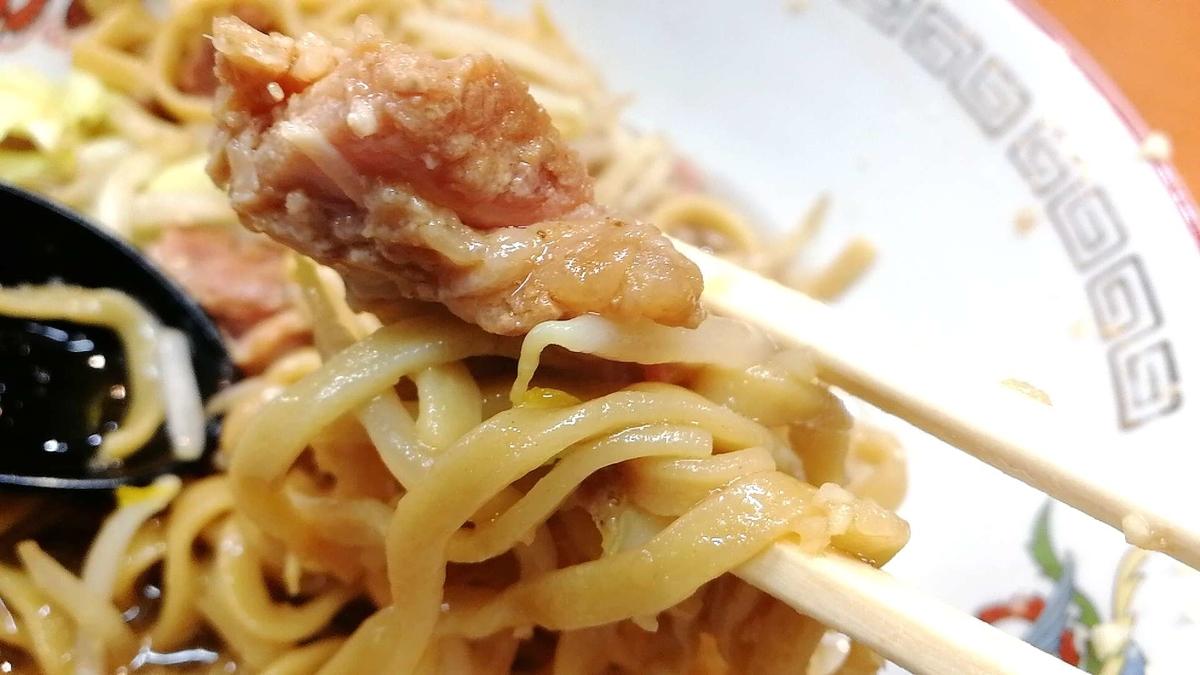 ラーメン豚山、深夜まで営業している美味しい二郎系!