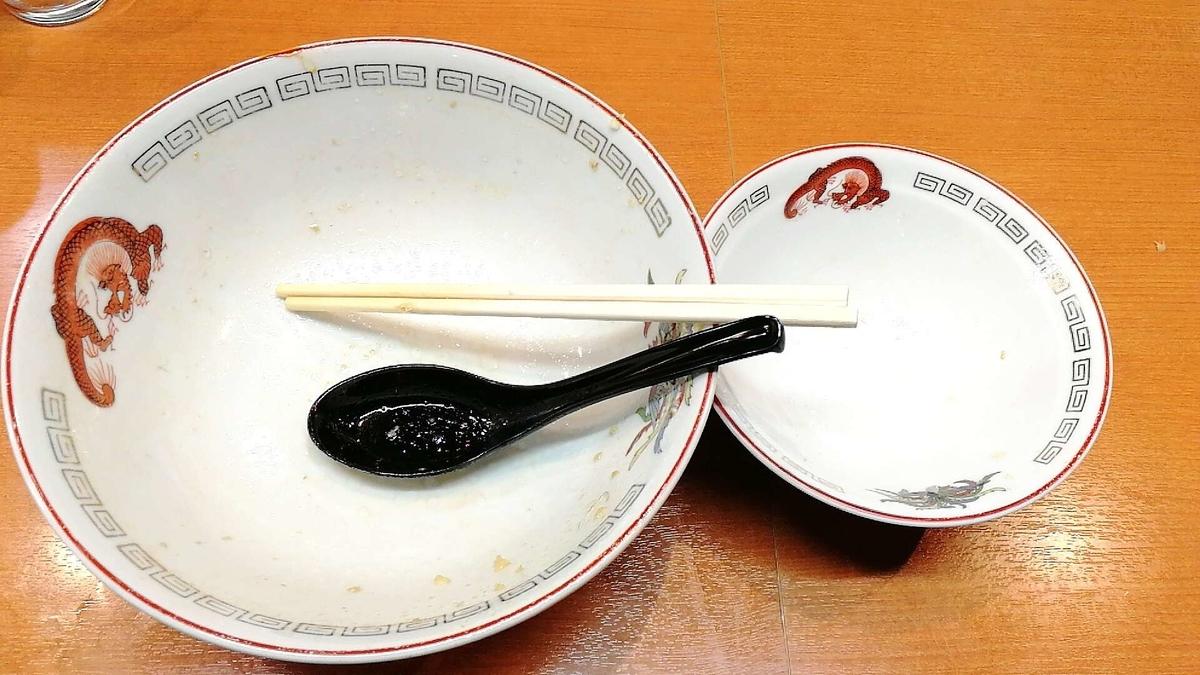 深夜の二郎系で完食完飲ブチかます!