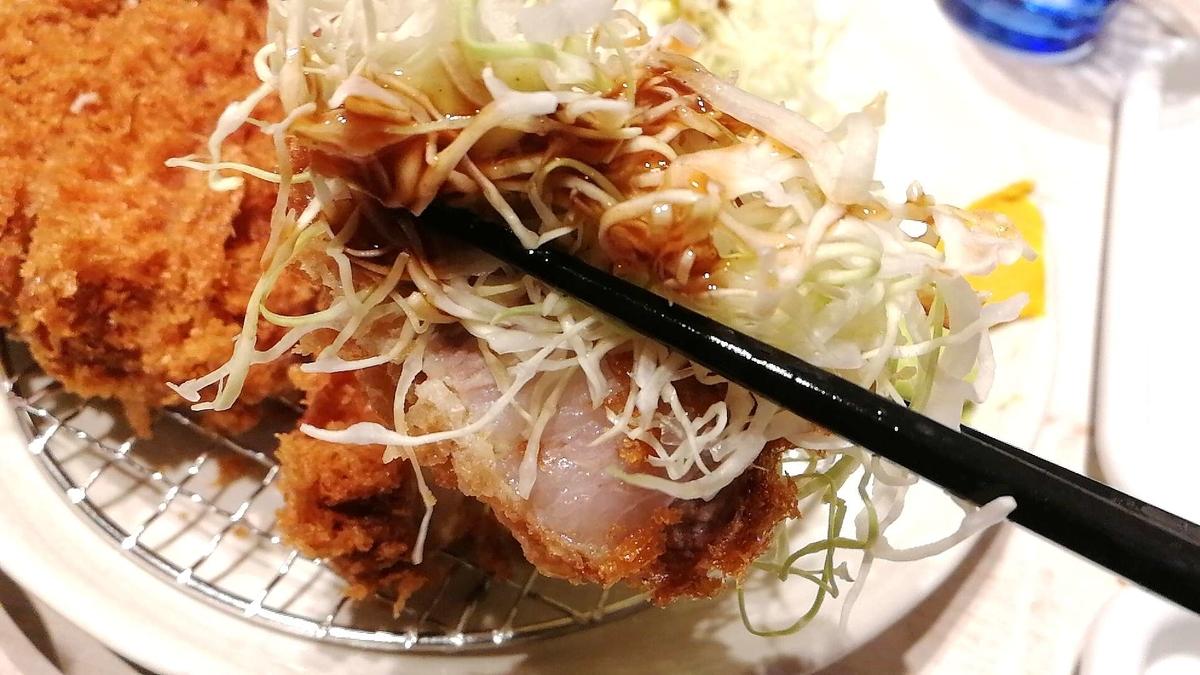 丸山吉平はトンカツだけじゃなく、キャベツもカラシもワサビも豚汁も美味しい!