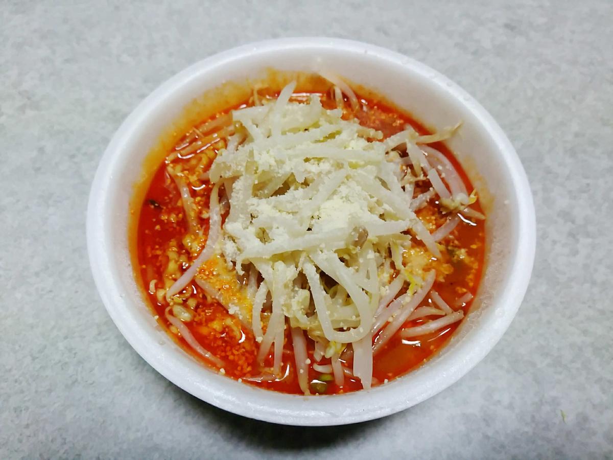辛辛魚カップ麺のチョい足しアレンジレシピ!
