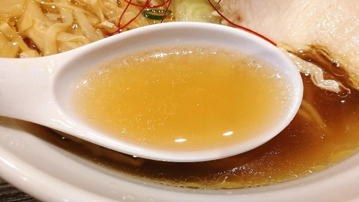 秋田駅「麺屋十郎兵衛」の比内地鶏ラーメンのスープの味は?
