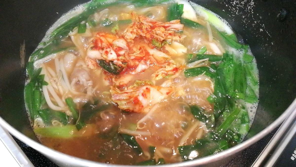 コストコのキムチでキムチ鍋を作ったら最高に美味しかった!