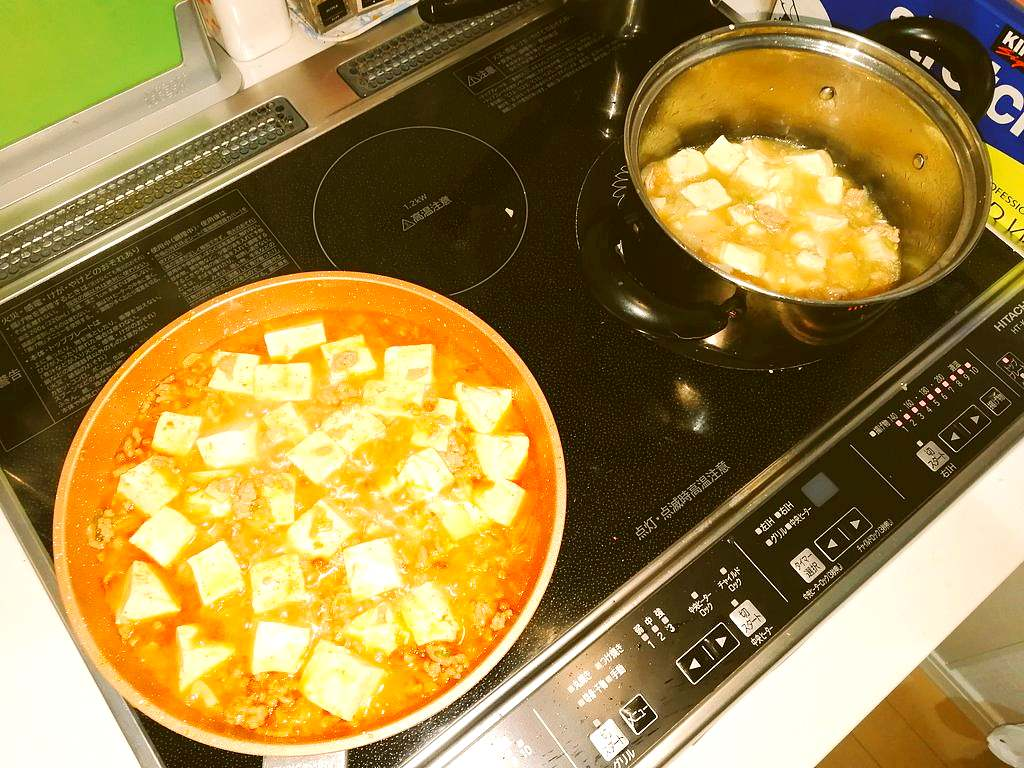 ウェイパーで麻婆豆腐がレベルアップ!