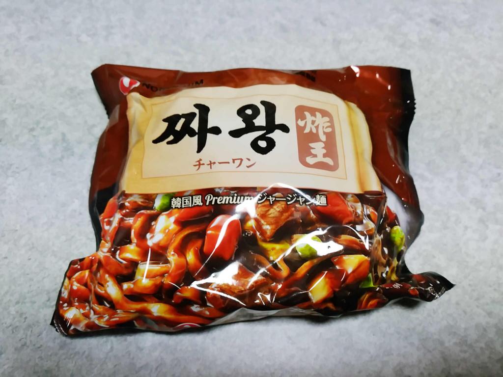 韓国のインスタント麺「チャーワン」を食べてみた!