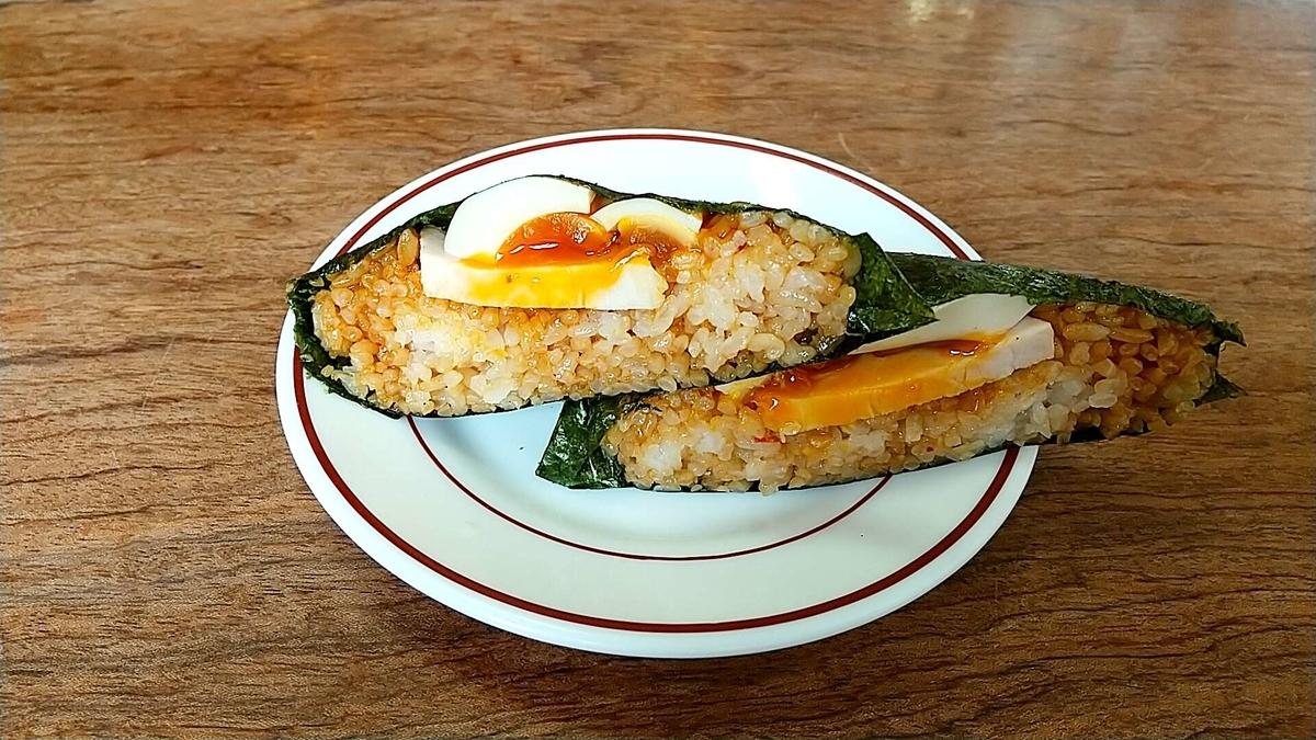 大仙市で人気「しな竹」の平日限定特製おにぎりが美味しい!