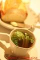 春野菜入りのコンソメスープ