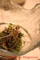 平目と車エビ・ミル貝のサラダ - 山葵風味のドレッシング(よねむら)