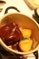 イベリコ豚の赤ワイン煮(よねむら)