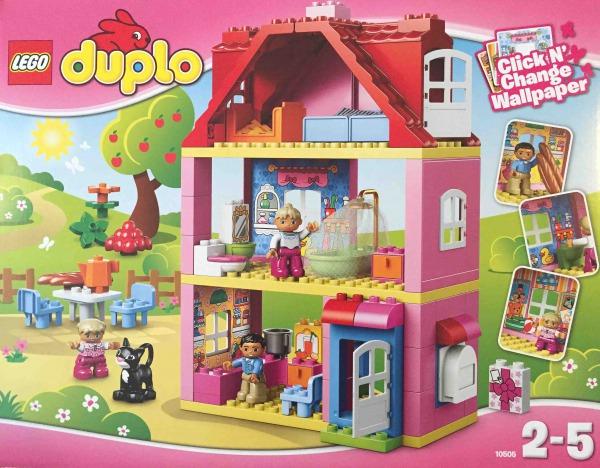 レゴ デュプロ プレイハウス 10505 パッケージ