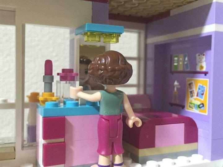 レゴ フレンズ エマのデザイナーズハウス 41095 ミラー