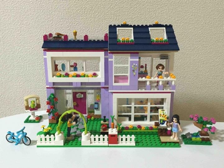 レゴ フレンズ エマのデザイナーズハウス 41095 全景