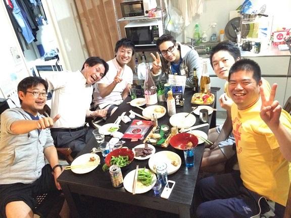 2015-04-30 farewell shirokanedai2
