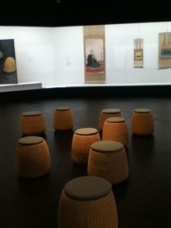 日本画展示室