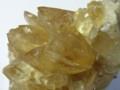 [石]方解石(二枚貝化石内の結晶)