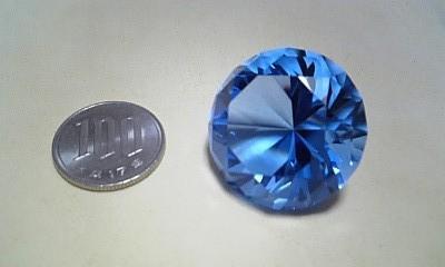 カットガラス玉