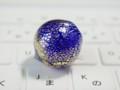 [球体][ガラス]吹きガラス球(金箔巻き付け)