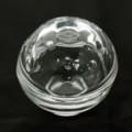 [球体][ガラス]蓋物
