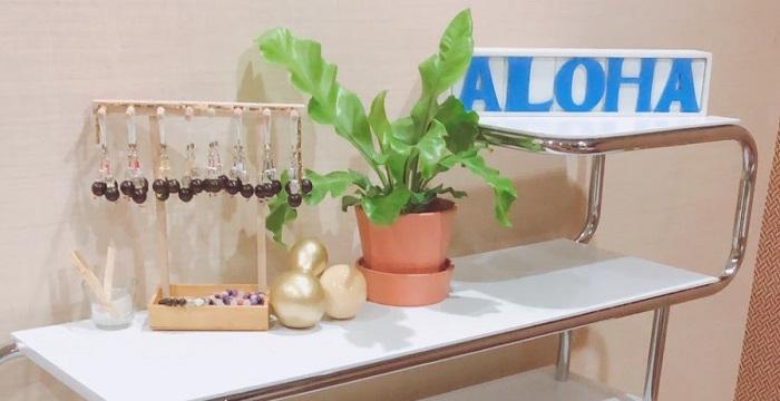 ALOHAの観葉植物