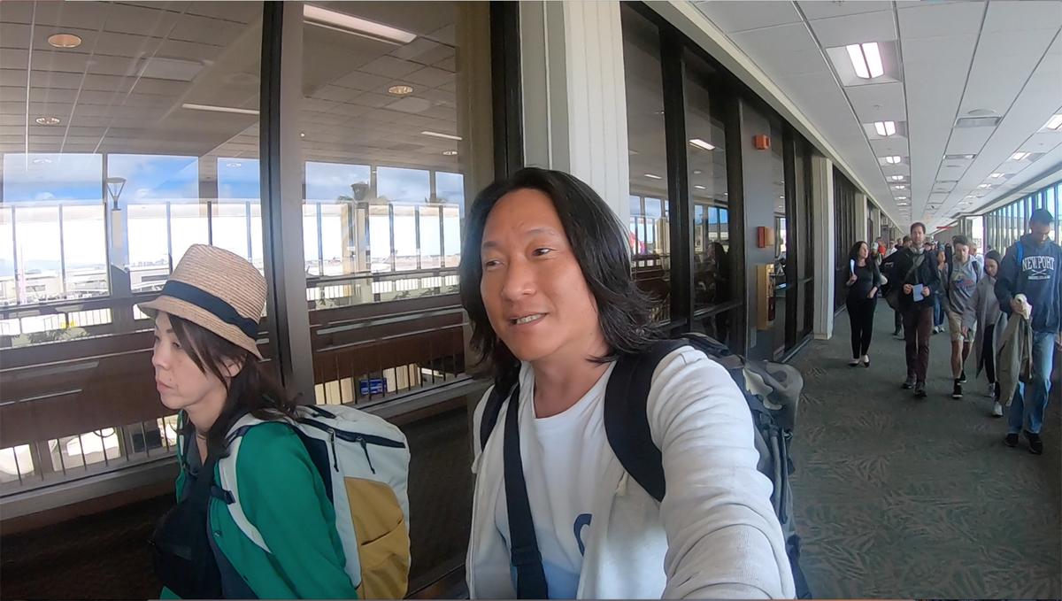 JALハワイ便ホノルル到着