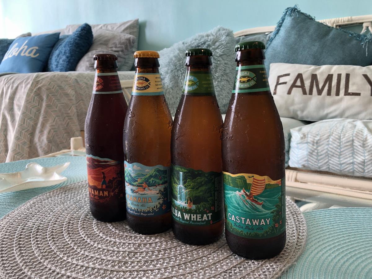 購入したビール