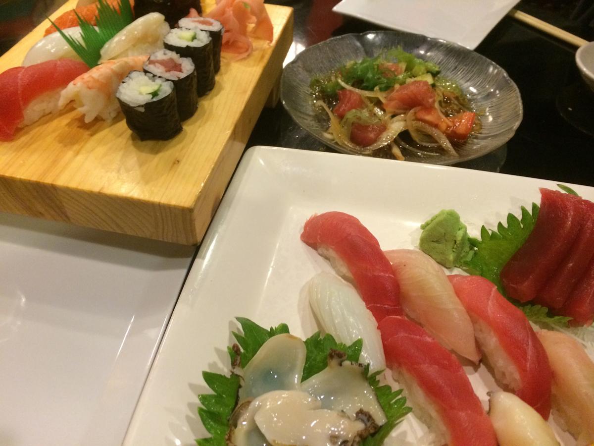 ふるさと寿司のにぎり寿司