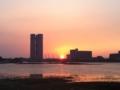 4-12、香椎浜夕陽