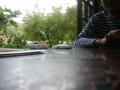 [大子シュッポ]蕎麦屋にて。hayakar氏と煙草