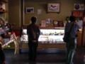 [大子シュッポ]ゆばの里、店内風景。ほぼオール大豆製品がずらり