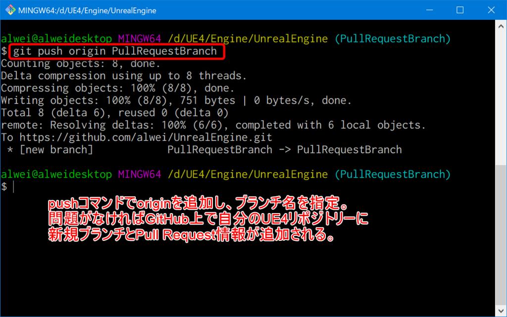 UE4 GitHubでエンジンに対してプルリク(Pull Request)を出すまで
