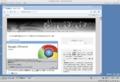 Windows VistaのGoogle Chrome1.0.154.36