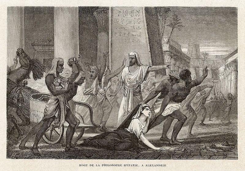 ヒュパティアの死