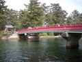 [バイク]天橋立のなんか回る橋