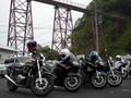 [バイク]余部鉄橋とバイク