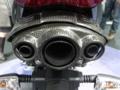 [バイク]デイトナ675 マフラーエンド 純正オプションカーボンカバー