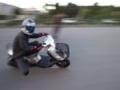 [バイク]ズルズルズルリン