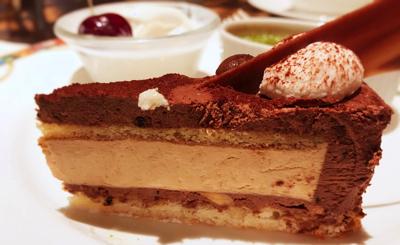 【アトリエ】コーヒーとビターチョコレートのムース*
