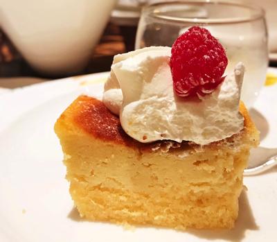 【アトリエ】リコッタチーズケーキ