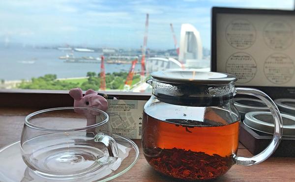 オリエンタルビーチ アフタヌーンティー「Art of Tea」のアールグレイ
