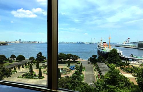 ホテルニューグランド 「ル・ノルマンディ」からの眺望