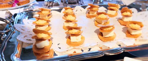 ル・ノルマンディ サマーランチビュッフェ『チーズ チーズ チーズ』チーズのミルフィーユ
