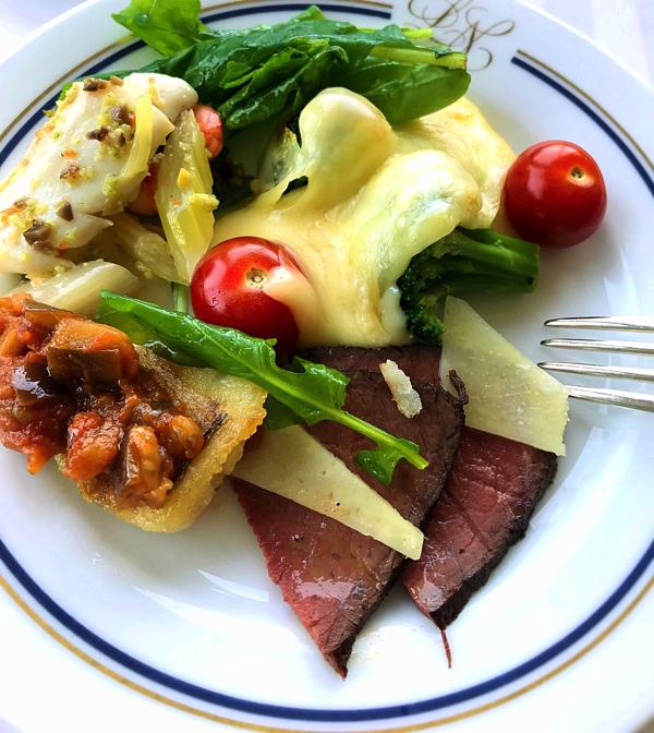 ル・ノルマンディ サマーランチビュッフェ『チーズ チーズ チーズ』ラクレットがとても美味しいです