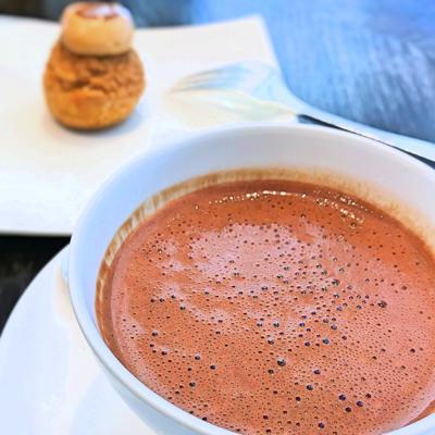 モティーフアフタヌーンティー ホットチョコレートクールドグアナラ(カカオ125%)