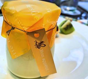 ホワイトチョコレートとレモンのヨーグルト*