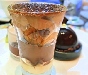 リンゴとチョコレートのキャラメリゼ*