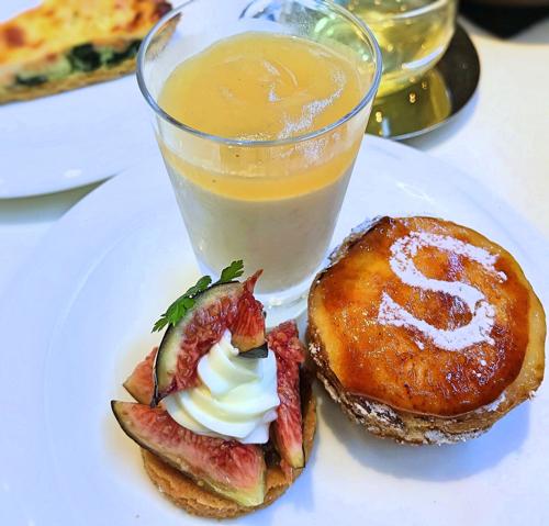 サロン ベイク&ティーのオーダーブッフェ「オーダーブッフェ最後のお皿」